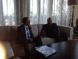 Bilateral Discussions, PM O'Neil with Hon. Jero Wacik, Conrad Hotel, Bali