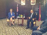 Bilateral Talks Between PM Aus and PM PNG